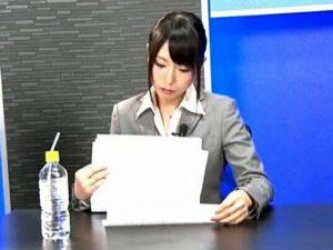 合法レイプ【女子アナ失格】生放送中に公開SEX